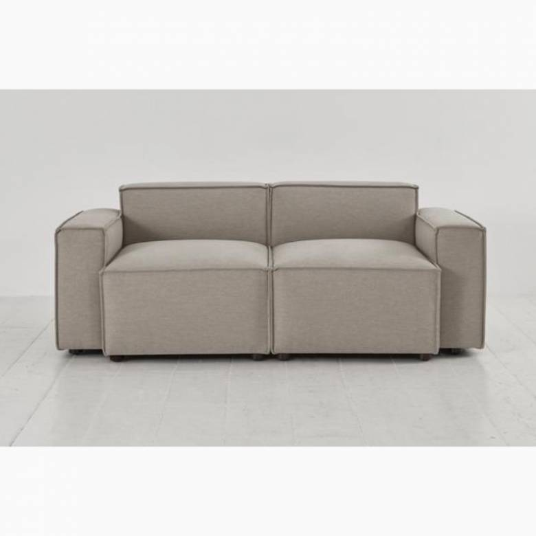 Swyft - Model 03 - 2 Seater Sofa - Linen Pumice