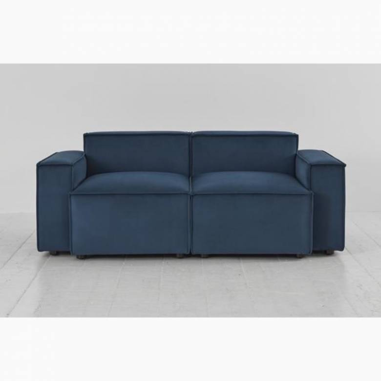 Swyft - Model 03 - 2 Seater Sofa - Velvet Teal