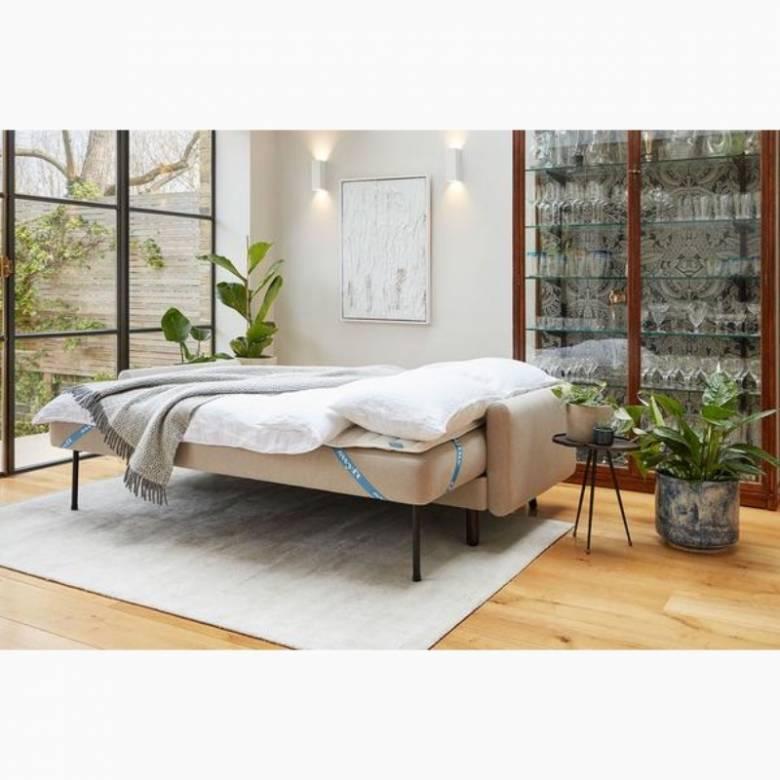 Swyft - Model 04 - 3 Seater Sofa Bed - Linen Pumice