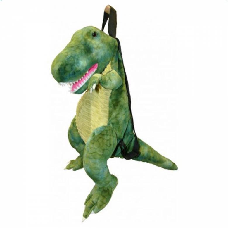 T-Rex Dino Backpack Green 3yr+