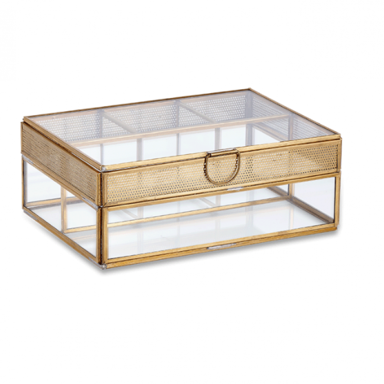 Tama Jewellery Box With Frame Large 22x15cm