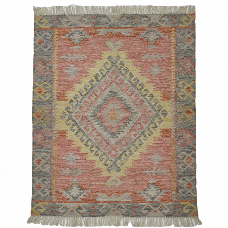 DISPLAY Tarifa Kilim Rug 180X120cm Recycled Bottle Rug