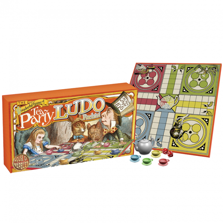Tea Party Ludo Board Game