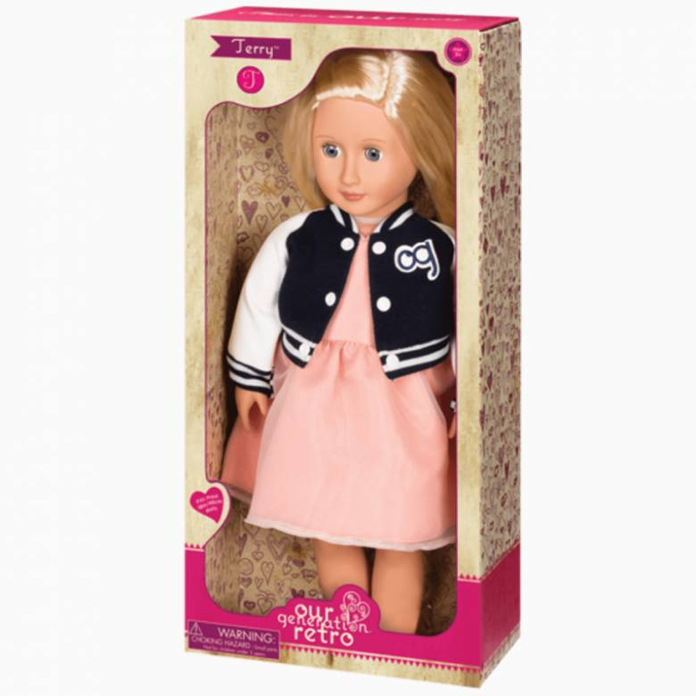 Terry - Our Generation Doll 3+