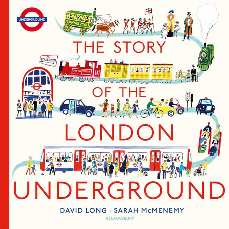 TfL: The Story of the London Underground - Hardback Book