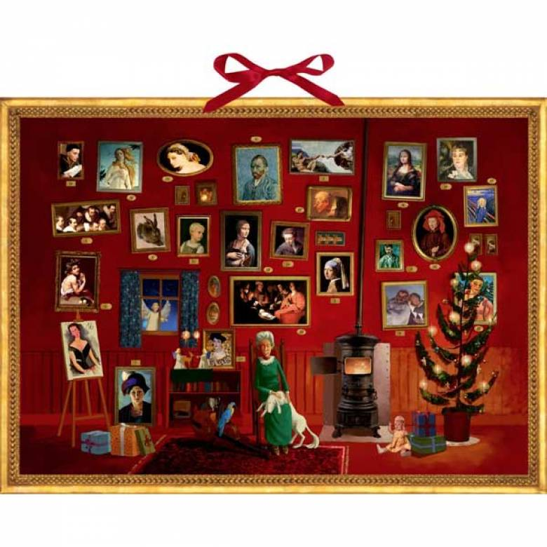 The Art Gallery Christmas Advent Calendar
