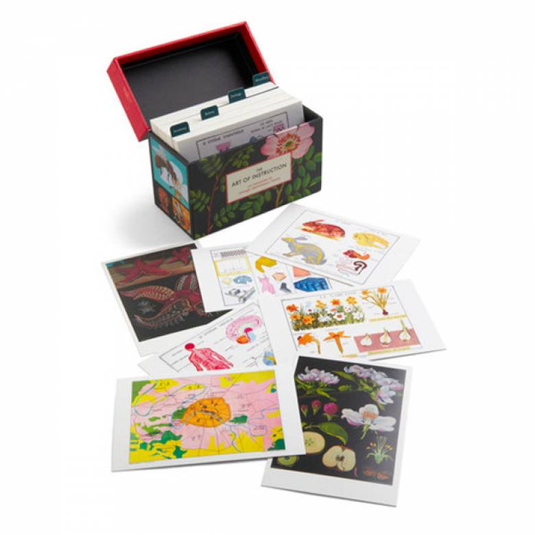 The Art Of Instruction - Box of 100 Postcards