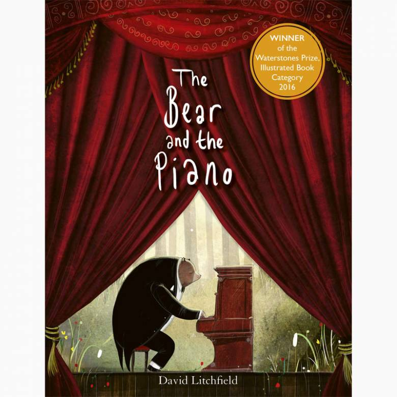 The Bear And The Piano - Board Book