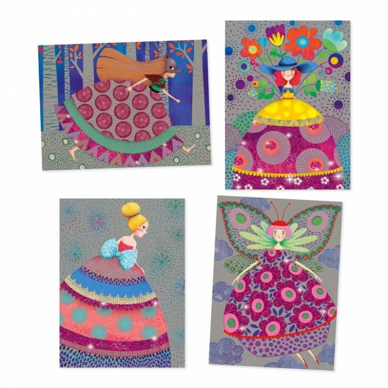 The Beauties Ball - Scratch Art Cards 6+