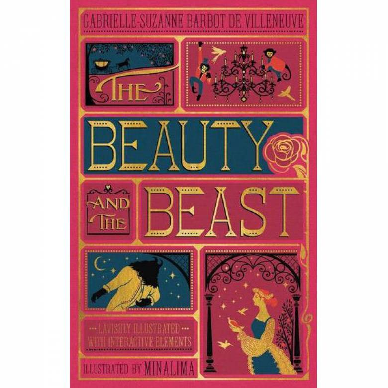 Beauty And The Beast Illustrated Hardback Book