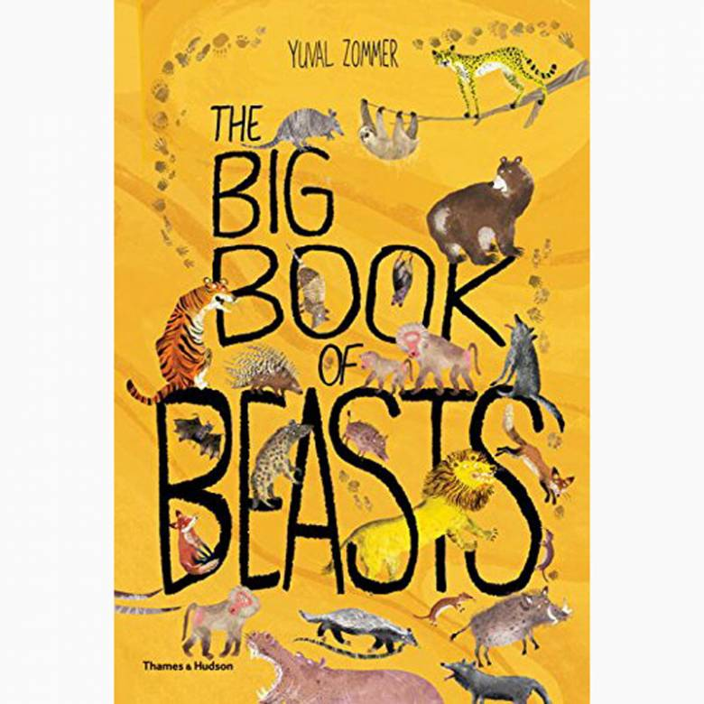 The Big Book Of Beasts - Hardback Book