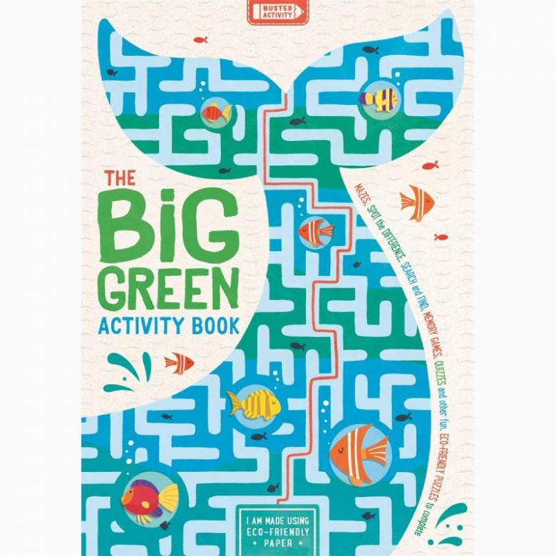 The Big Green Activity Book - Paperback Book
