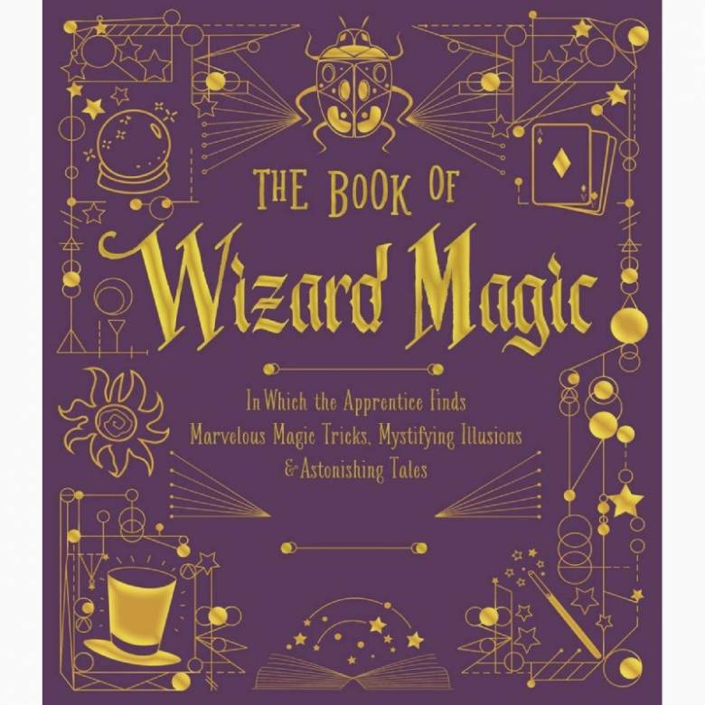 The Book Of Wizard Magic - Hardback Book
