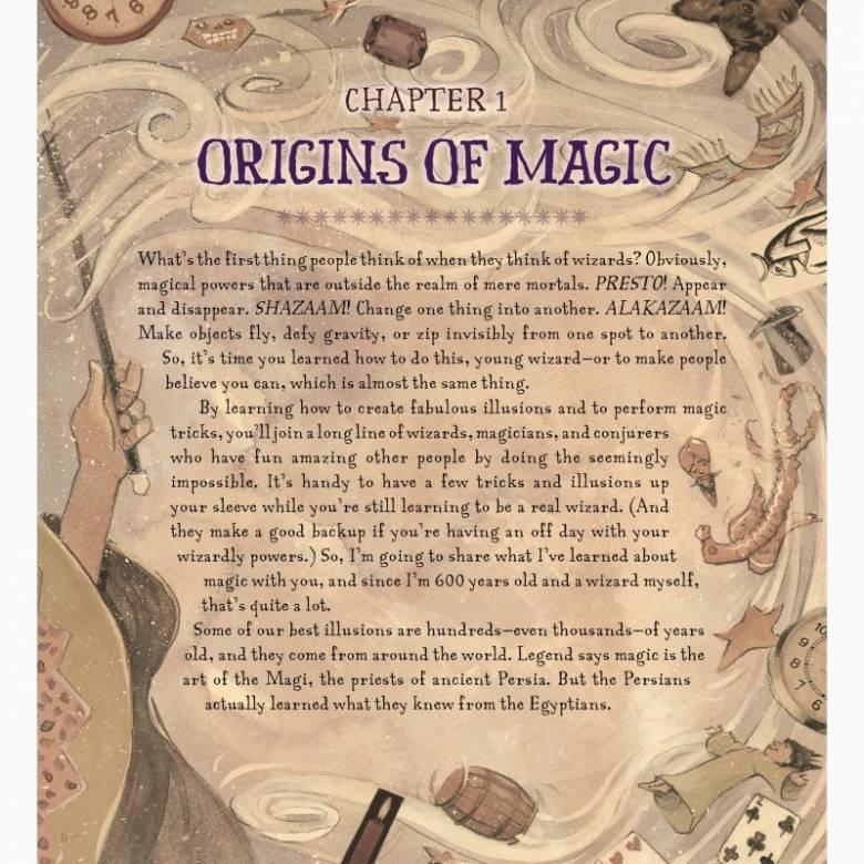The Book Of Wizard Magic - Hardback Book