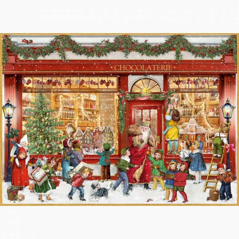 The Chocolate Shop A4 Advent Calendar