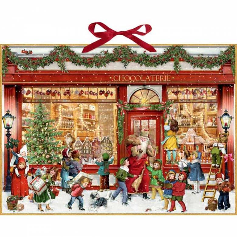 The Chocolate Shop Christmas Advent Calendar (Large)