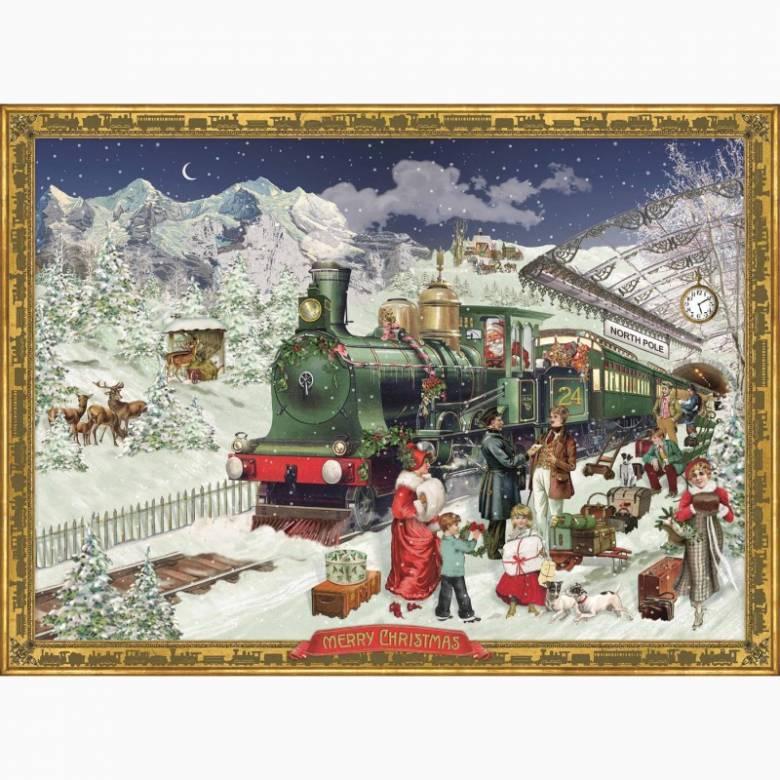 The Christmas Express A4 Advent Calendar