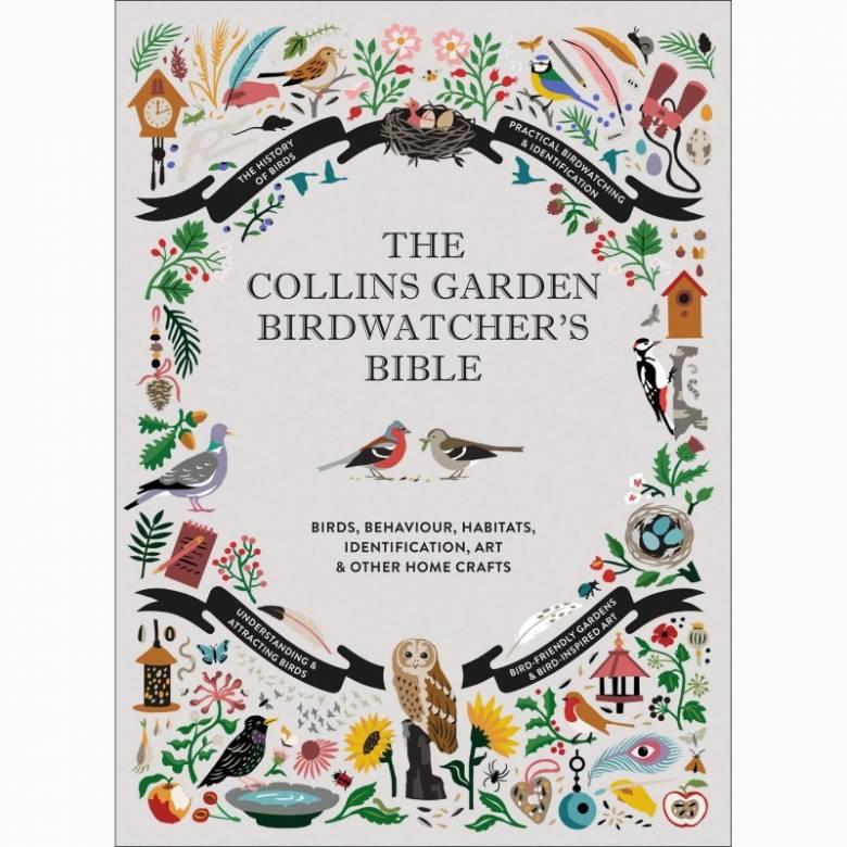 The Collins Garden Birdwatcher's Bible - Hardback Book