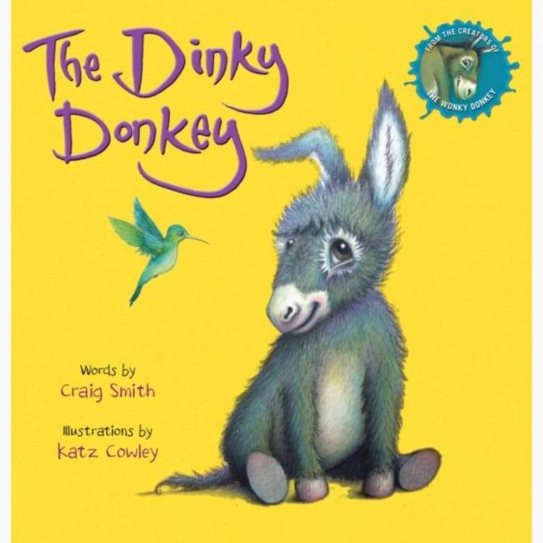 The Dinky Donkey - Board Book