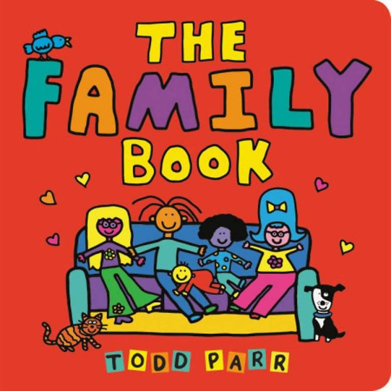 The Family Book - Board Book
