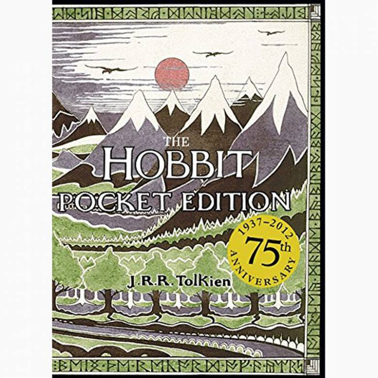 The Hobbit By J.R.R Tolkien - Pocket Hardback Book