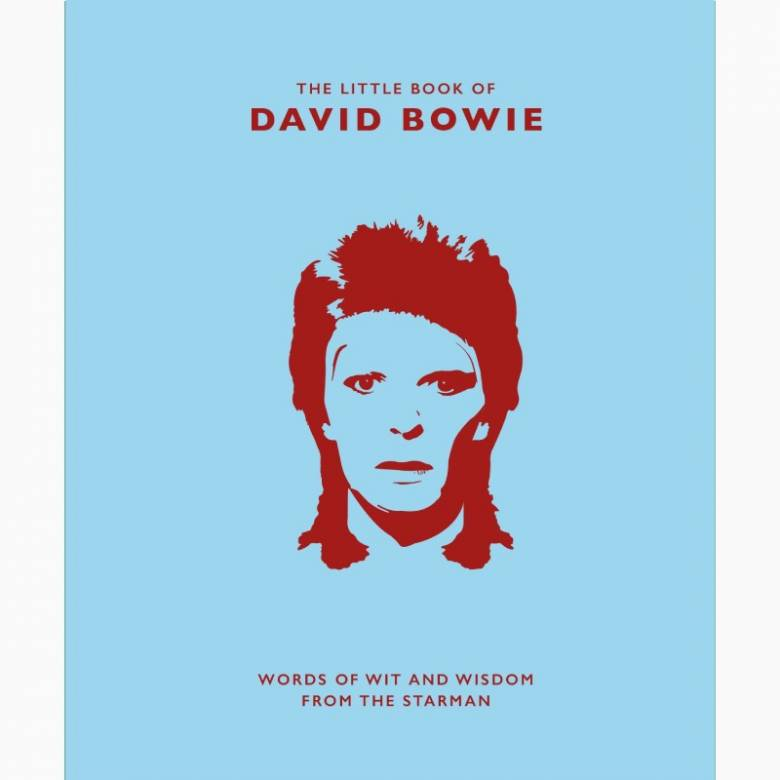 The Little Book Of David Bowie - Hardback Book