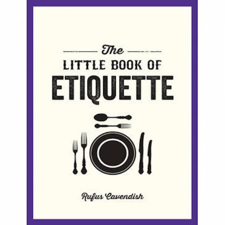 The Little Book Of Etiquette Paperback Book
