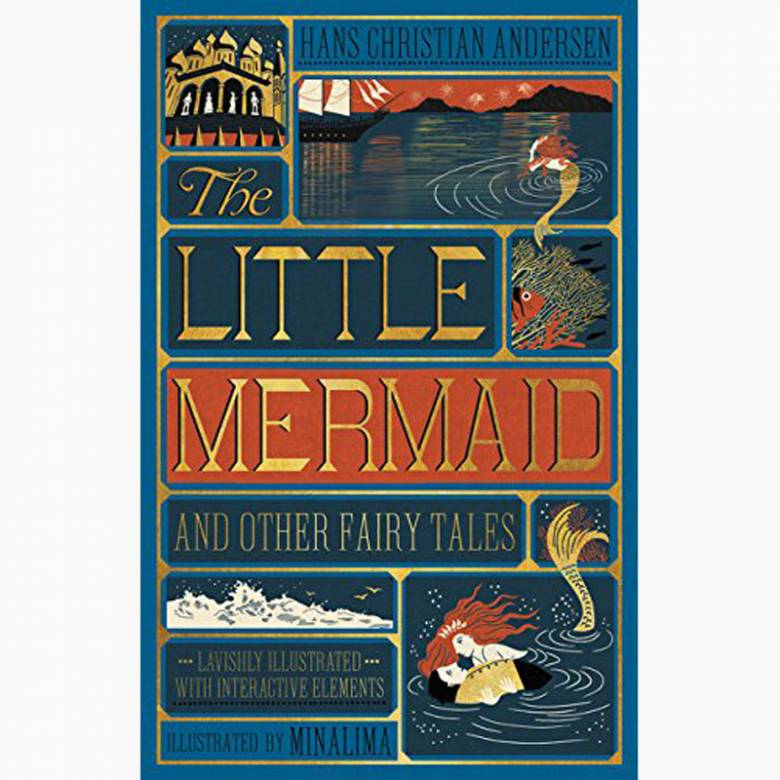 The Little Mermaid - Minalima Illustrations Hardback Book