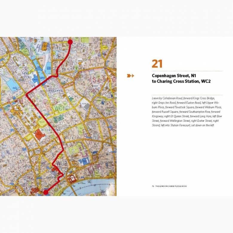 The London Cabbies Quiz Book - Hardback Book