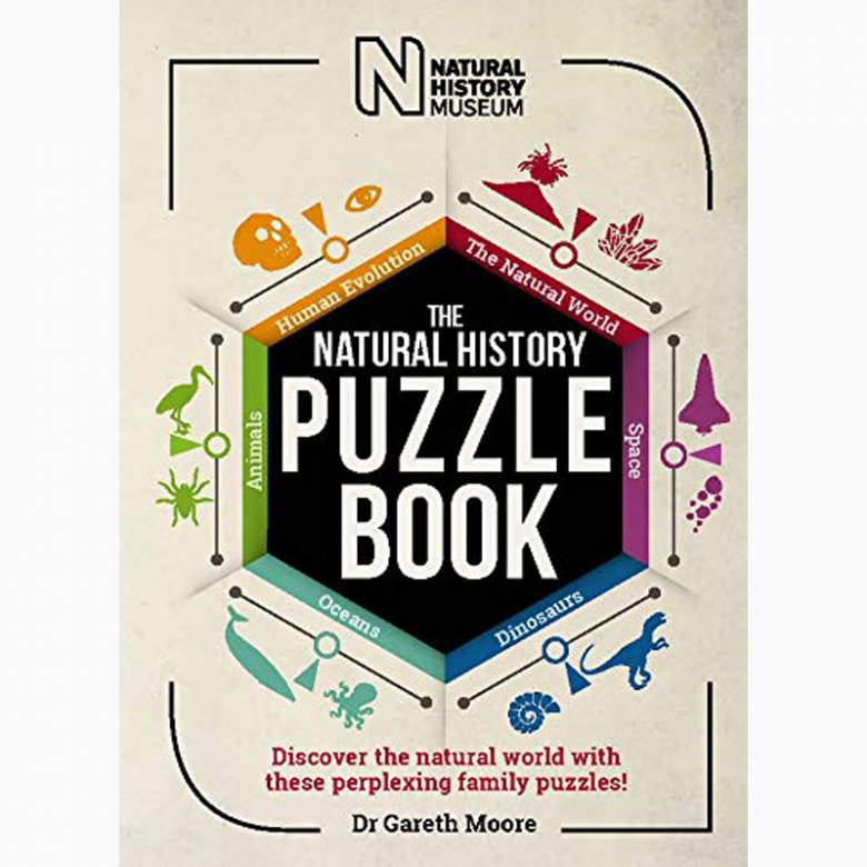 The Natural History Puzzle Book - Paperback Book