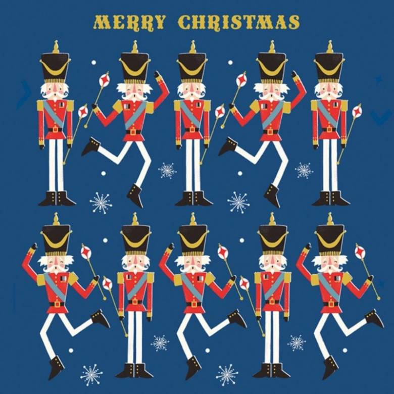 The Nutcracker - Pack Of 6 Christmas Cards By Art File