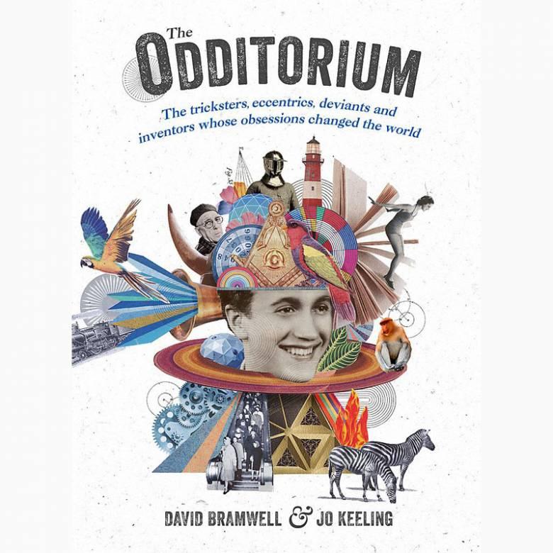 The Odditorium - Hardback Book