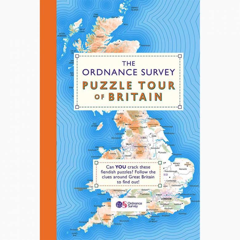The Ordnance Survey Puzzle Tour of Britain - Paperback Book