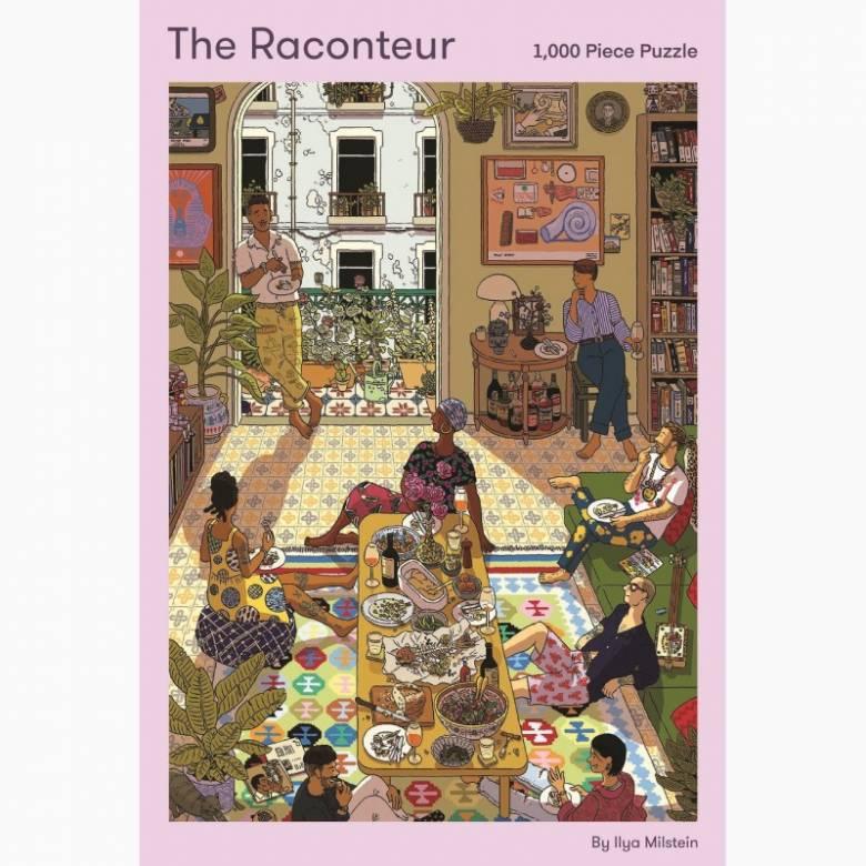 The Raconteur 1000 Piece Jigsaw Puzzle