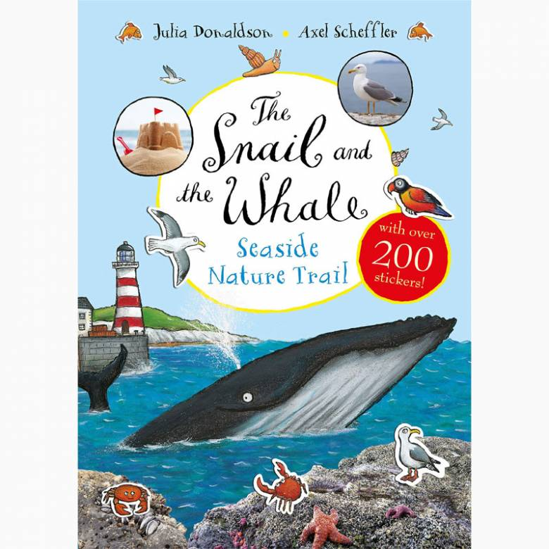 The Snail and the Whale Seaside Nature Trail - Paperback Book