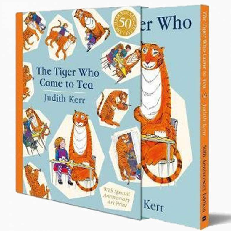 The Tiger Who Came To Tea - Hardback Slipcase Edition