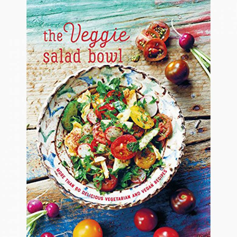 The Veggie Salad Bowl - Hardback Book