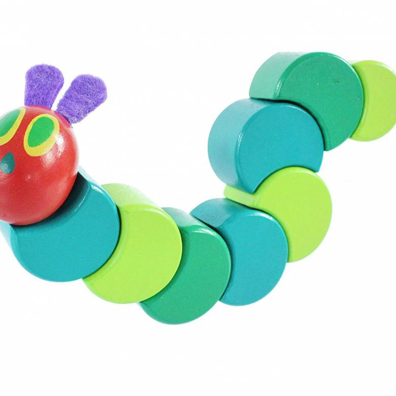 The Very Hungry Caterpillar Wooden Grasp & Twist Toy