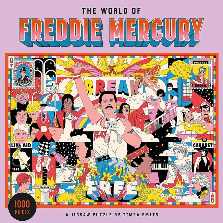 The World Of Freddie Mercury - 1000 Piece Jigsaw Puzzle