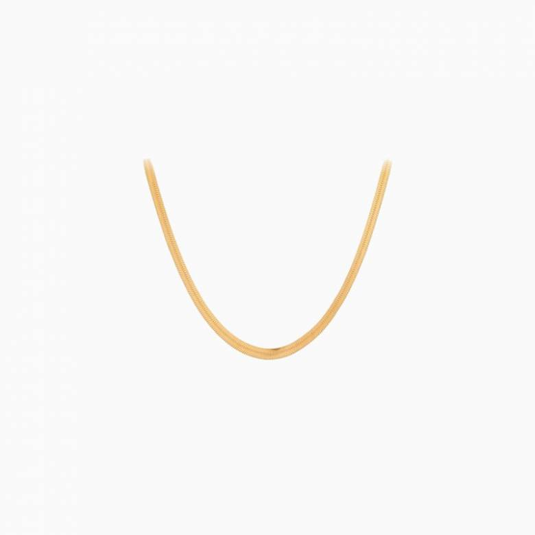Thelma Necklace In Gold By Pernille Corydon