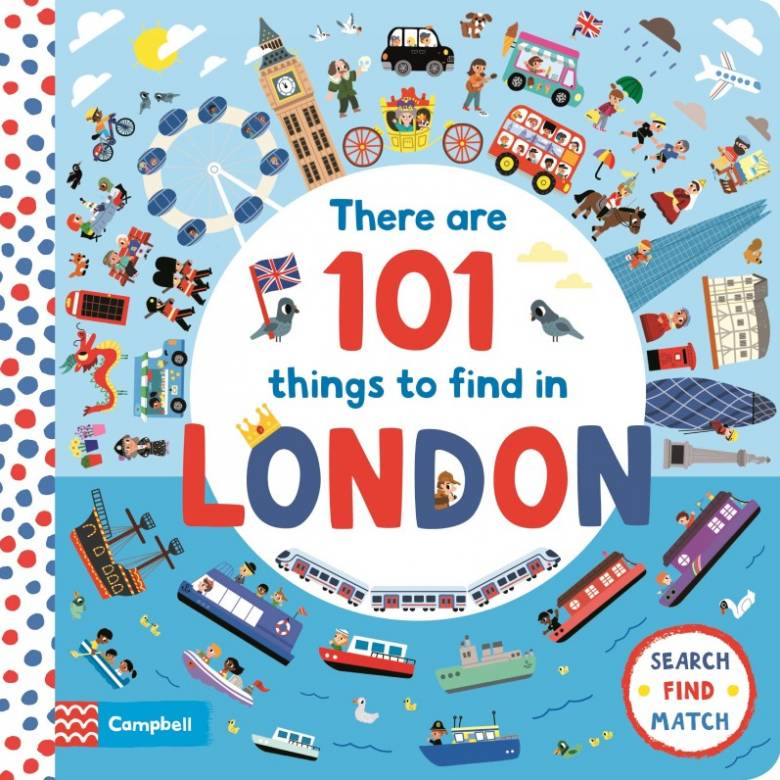 There Are 101 Things to Find in London - Board Book