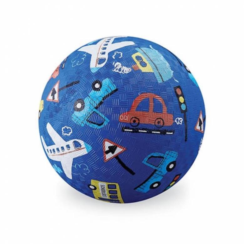 Things That Go - Small Rubber Picture Ball 13cm
