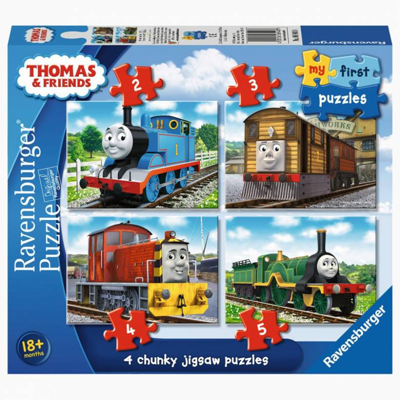 Thomas And Friends - My First Puzzles 18m+