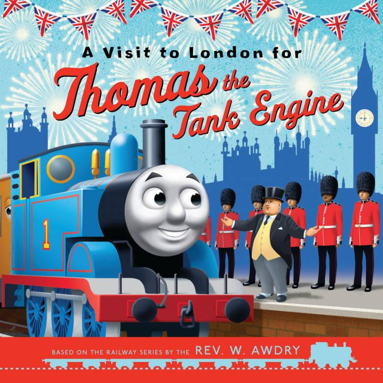 A Visit To London For Thomas The Tank Engine - Paperback Book