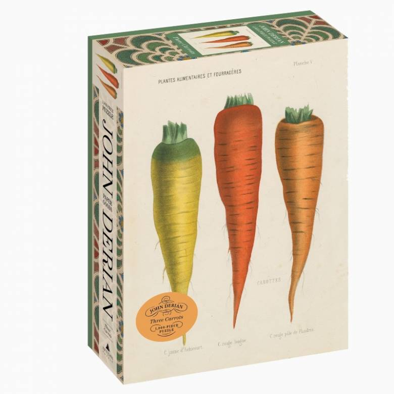 Three Carrots By John Derian - 1000 Piece Jigsaw Puzzle