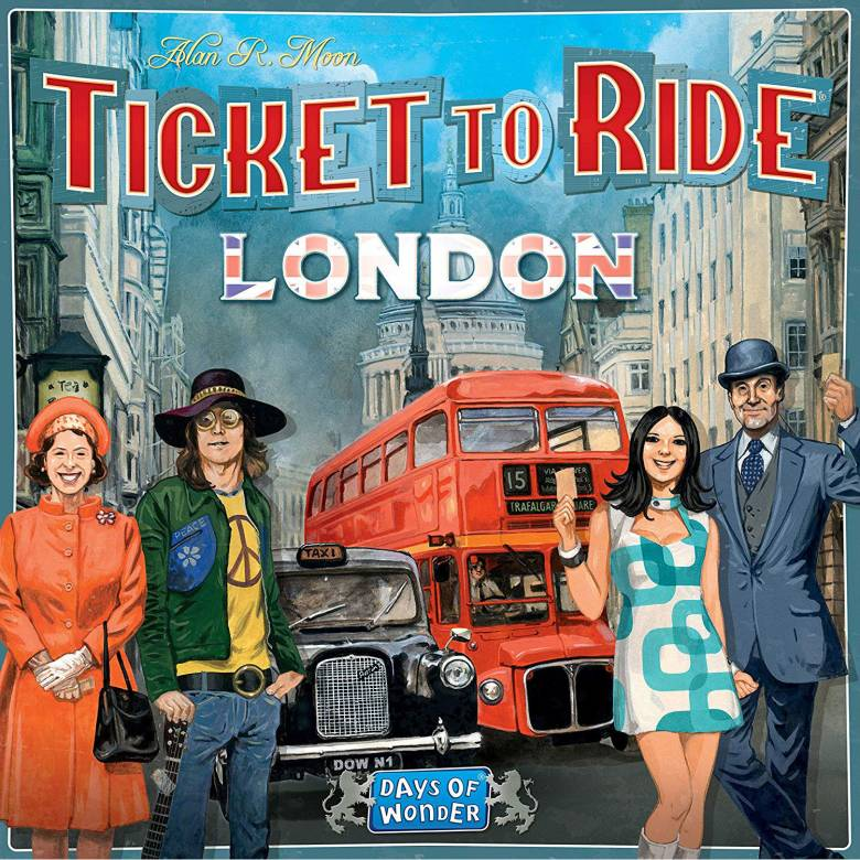 Ticket To Ride: London - Board Game 8+
