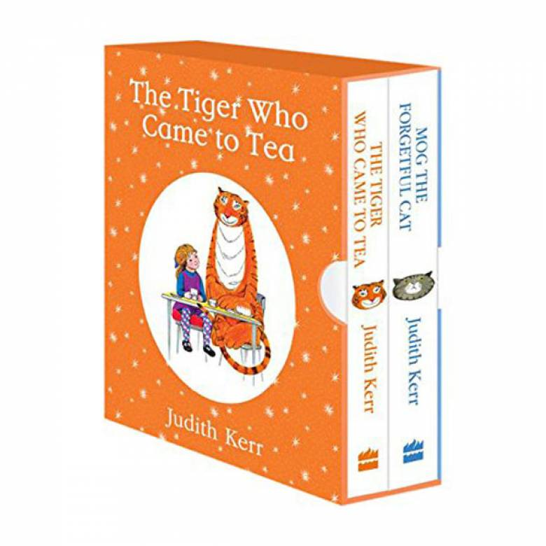 The Tiger Who Came To Tea/ Mog The Forgetful Cat Board Books Set