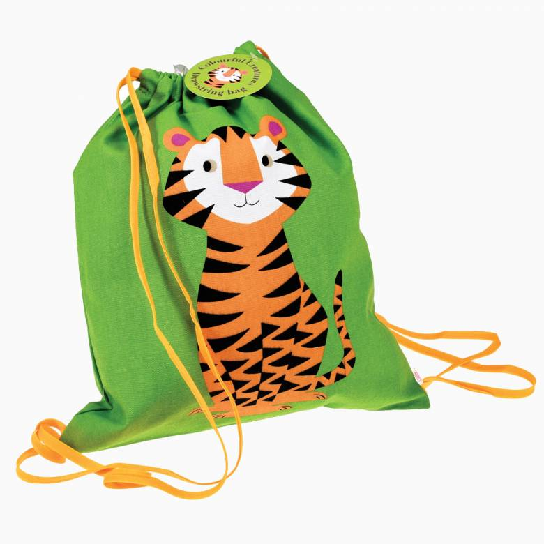 Tiger Drawstring Bag