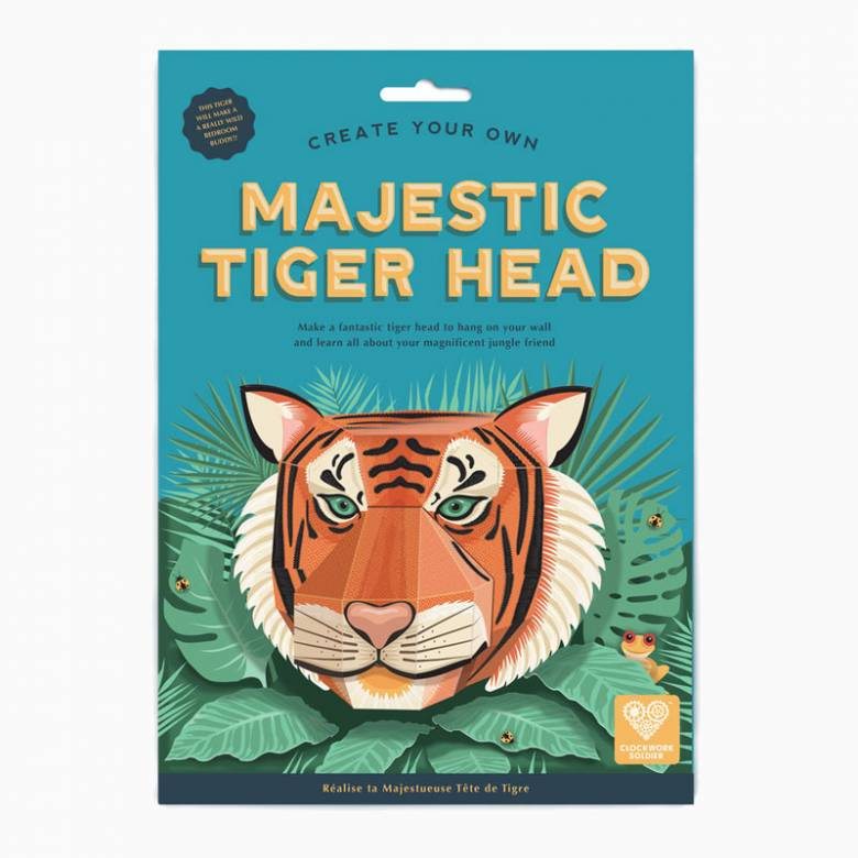 Create Your Own Majestic Tiger Head 7+