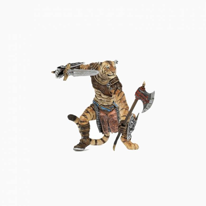 Tiger Mutant Warrior - Papo Fantasy Figure